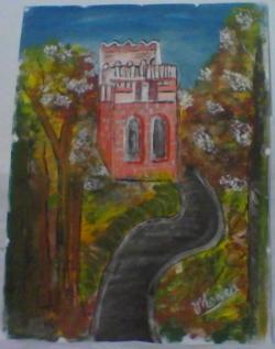 Picturi de toamna drumul catre castel