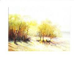 Picturi de toamna Peisaj de toamna ii
