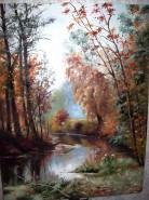 Picturi de toamna Park in pavlovsc