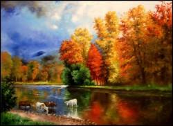 Picturi de toamna Reflexii de toamna