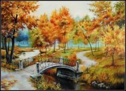 Picturi de toamna Toamna pe alee