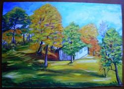 Picturi de toamna Toamna pe deal