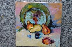 Picturi de toamna natura cu fructe