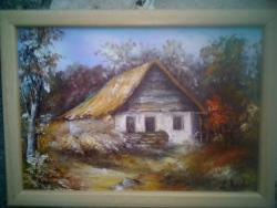 Picturi de toamna Singura casa