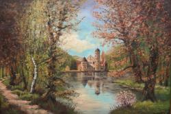Picturi de toamna Castelul Mespelbrunn