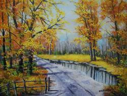 Picturi de toamna Peisaj de toamna 4 ...