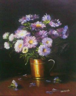 Picturi de toamna toamna florilor .
