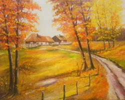 Picturi de toamna toamna pe ulita