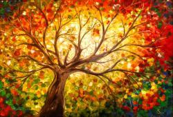 Picturi de toamna The Tree of Life