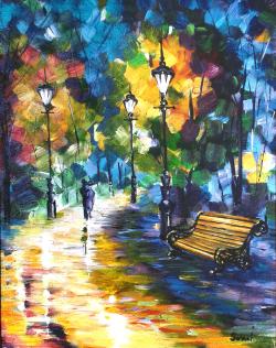 Picturi de toamna Walking in the Park