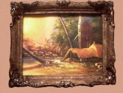 Picturi de toamna Toamna portocalie