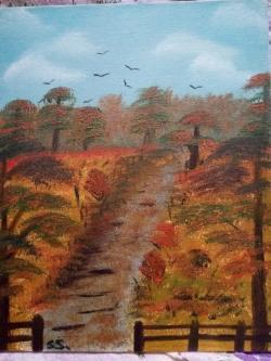 Picturi de toamna Quiet autumn
