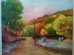 Picturi de toamna Podul Olanesti