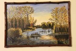 Picturi de toamna Lacuri in amurg