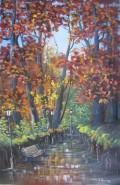 Picturi de toamna Aleea din parc