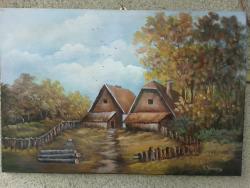 Picturi de toamna la margine de sat