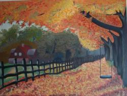 Picturi de toamna Covor de frunze