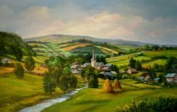 Picturi cu peisaje IARBA VERE DE ACASA