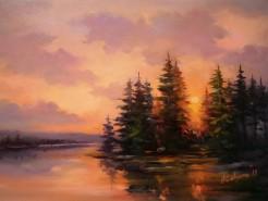 Picturi de vara Poem in zori