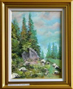 Picturi de vara Sus la munte