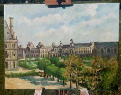 Picturi de vara Gradina lui Pissaro