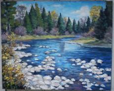 Picturi de vara Lac de munte 2
