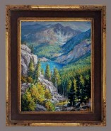 Picturi de vara Printre munti