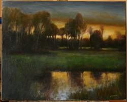 Picturi de vara Ultima lumina
