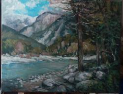 Picturi de vara Vara tarzie in munti