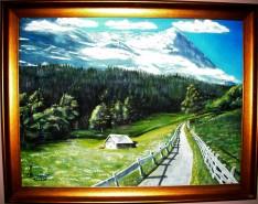 Picturi de vara Vara la munte