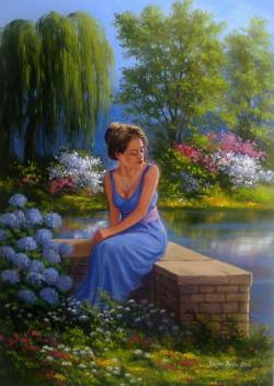 Picturi de vara fara titlu