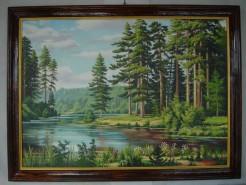 Picturi de vara Peisaj de vara 204