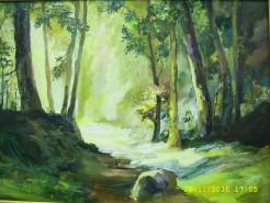 Picturi de vara Drumul spre lumina