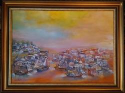 Picturi de vara ''Panorama Insule in Grecia''