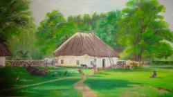 Picturi de vara Gospodarie taraneasca
