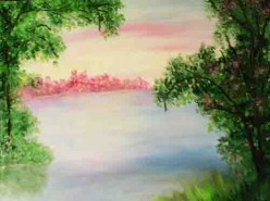 Picturi de vara Caldura verii