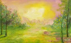 Picturi de vara dimineati de vara