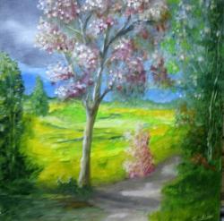 Picturi de vara drumul soarelui
