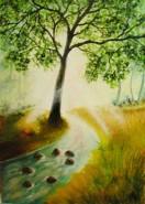 Picturi de vara In calea apelor