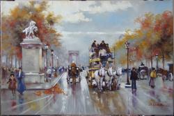 Picturi de vara Arcul de Triumf