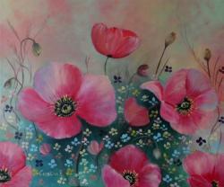 Picturi cu flori Flori de vara 2