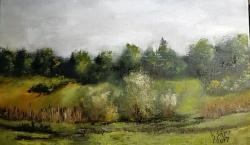 Picturi de vara In lunca paraului
