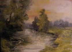 Picturi de vara Peisaj in pastel