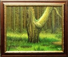 Picturi de vara Batranul stejar