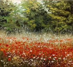 Picturi de vara flori de camp E.S. 2017