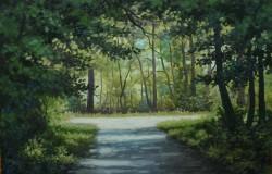 Picturi de vara Prin parc