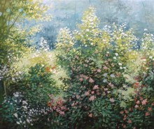 Picturi de vara Vegetatie vara