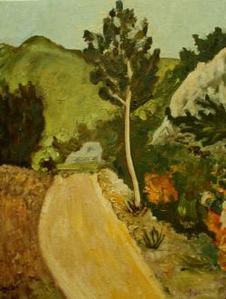 Picturi de vara Drum spre dealuri