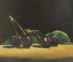 Picturi de vara cirese negre