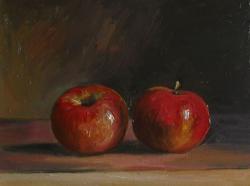 Picturi de vara doua mere